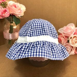 ⬇️$20 Janie and Jack Gingham Sunhat 4T